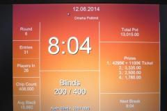 German Poker Tour Schenefeld - Omaha - 12-06-2014
