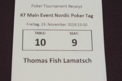 Nordic Poker Festival - Main Event Tag 1C - 23-11-2018